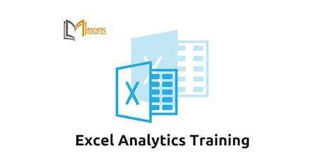 excel analytics training in toronto on nov 7th 9th 2018 tickets wed