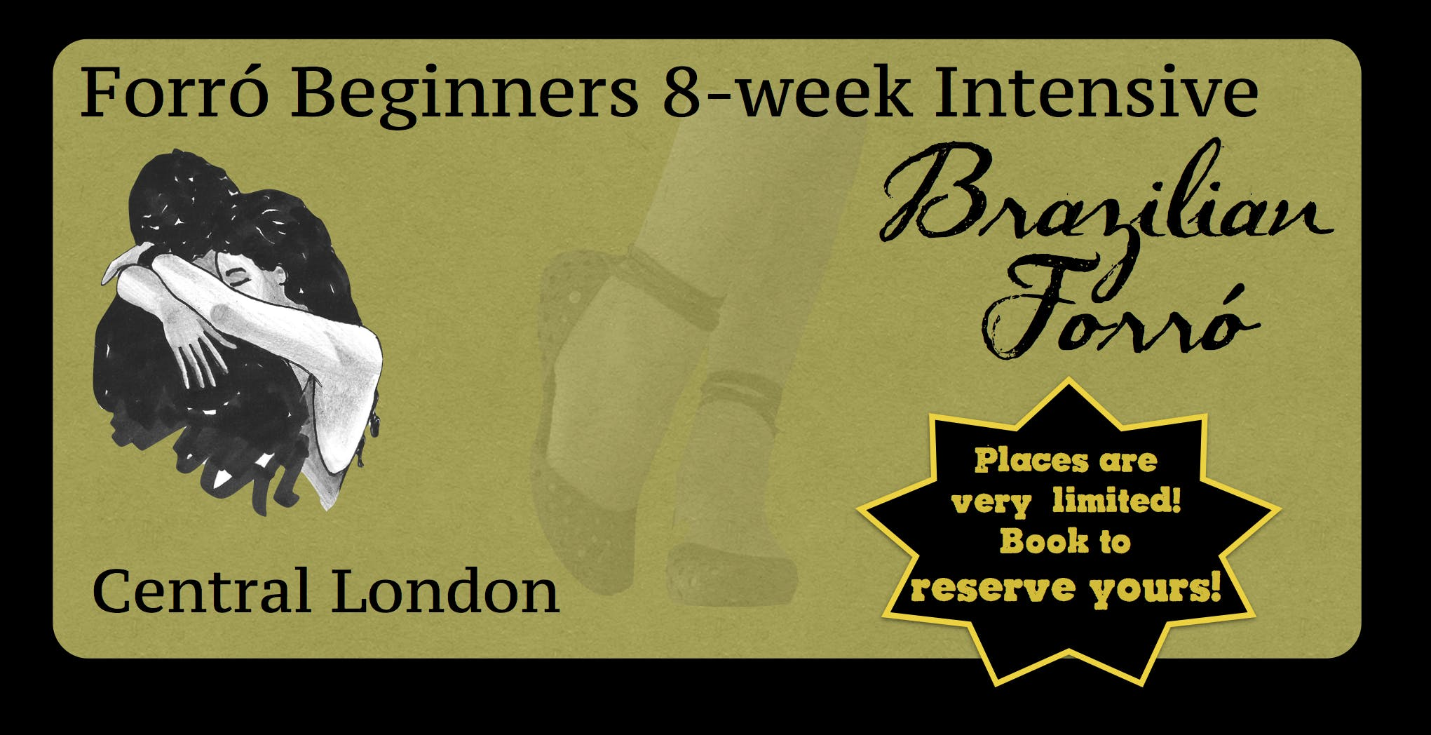 October beginners closed group 8-week Forró course