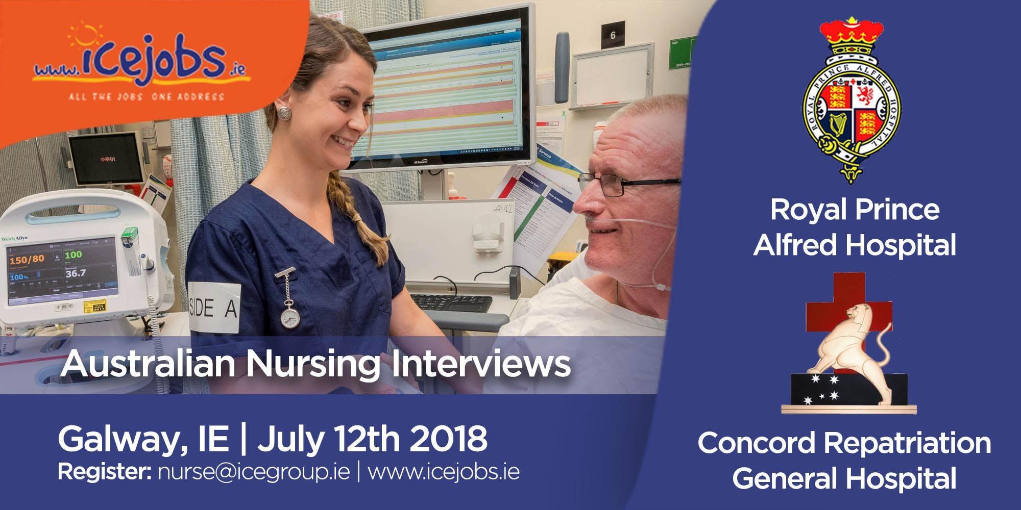 Nursing in Australia | Interviews | Galway, IE