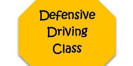 Defensive Driving Class- Point Reduction Class tickets