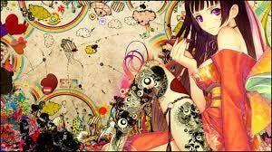 Anime Art Workshop - Year 8 secondary school