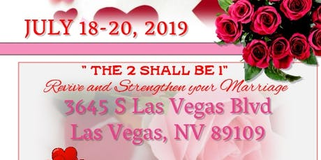 2019 The Two Shall Be 1 Marriage Retreat tickets