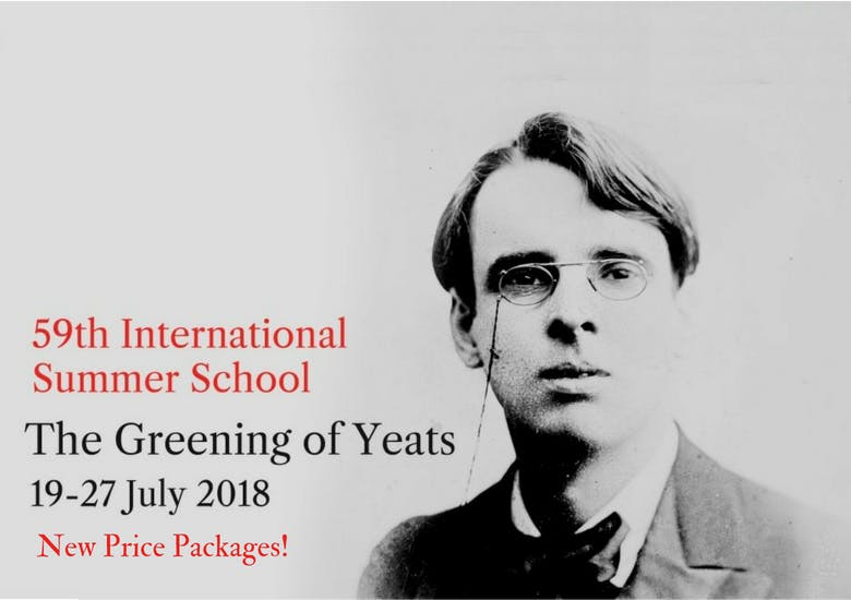 The 59th Yeats Summer School 2018 - Price Packages