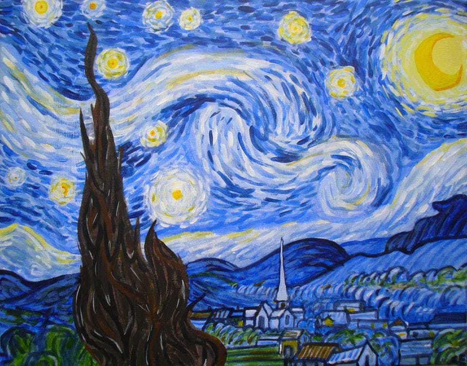 Paint Van Gogh's Starry Night! Stratford, Wed
