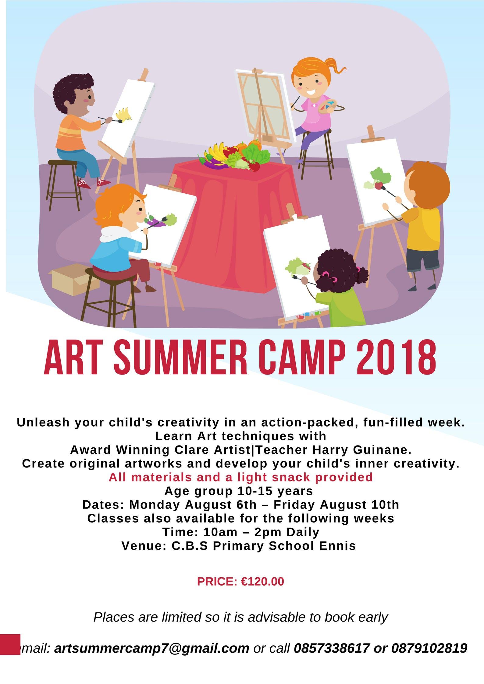 Art Summer Camp 2018