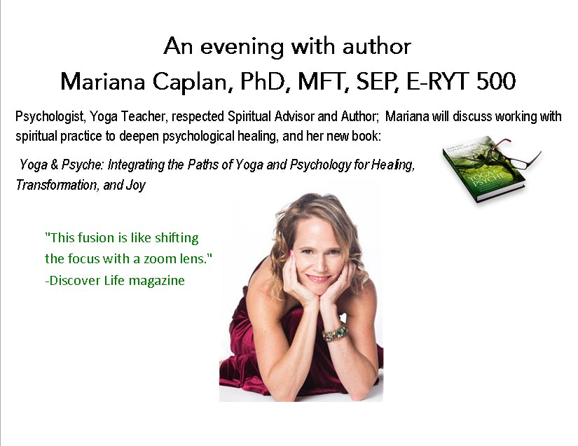 Bringing Psychological Inquiry into Spiritual Practice with Mariana Caplan