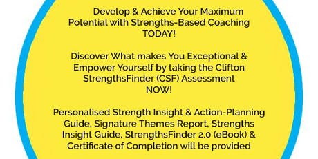 Clifton Strengths-Based Coaching  tickets
