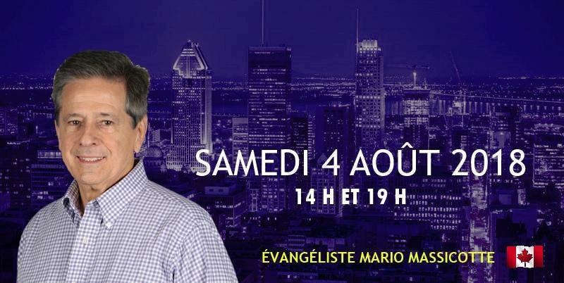 CONFÉRENCE D'ÉVANGÉLISATION AVEC MARIO MASSIC