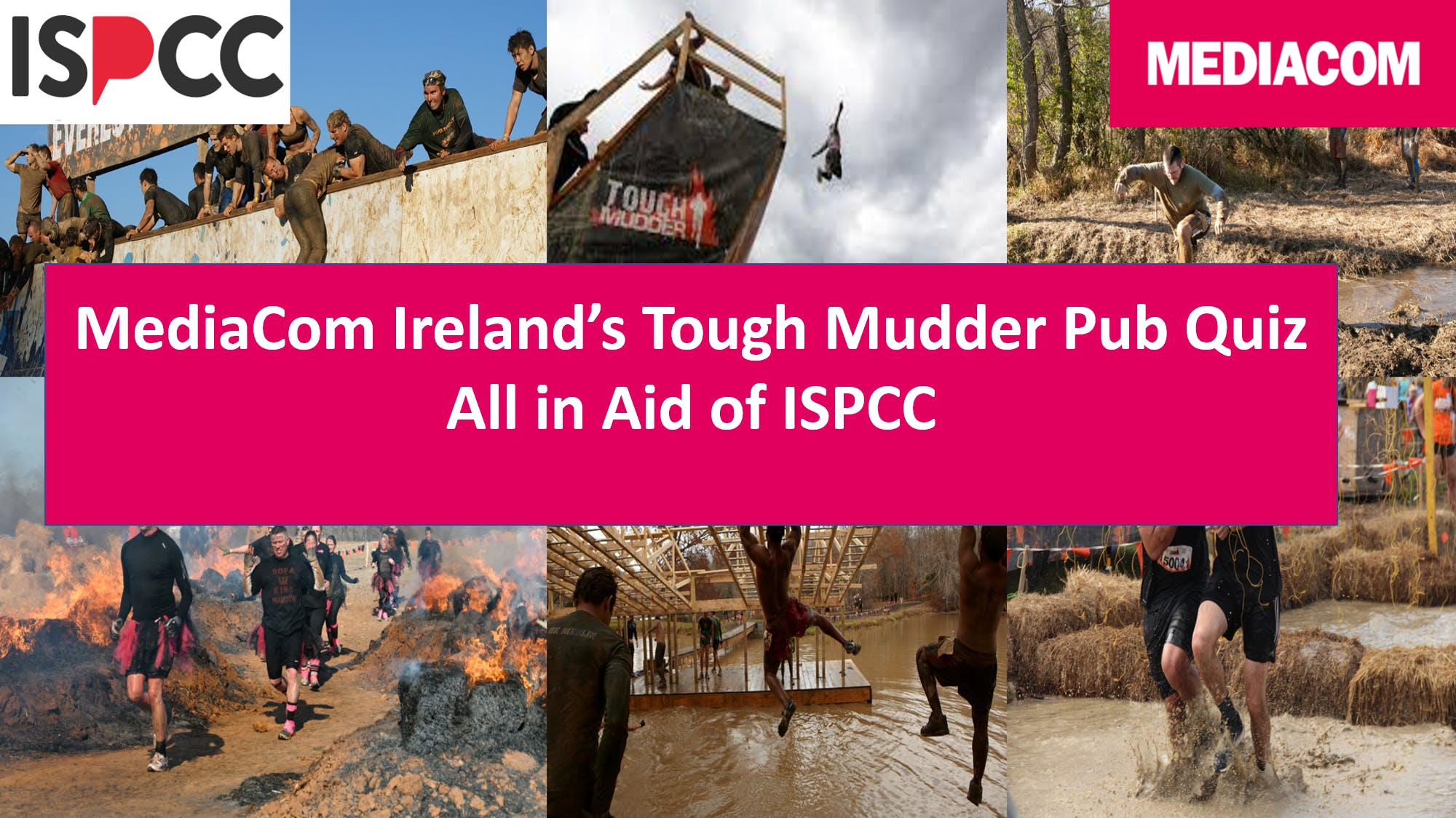 MediaCom Ireland's Tough Mudder Quiz in aid of ISPCC