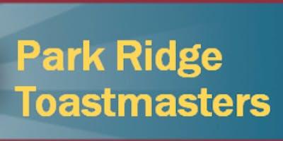 Park Ridge Toastmasters Club #381 Meeting