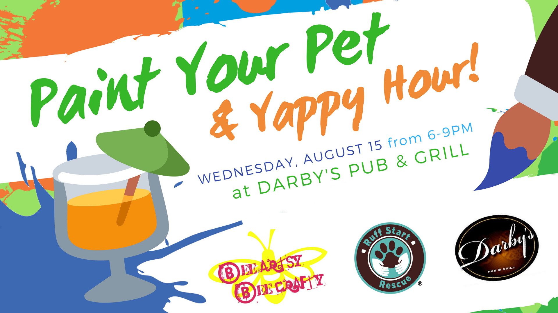Paint Your Pet & Yappy Hour
