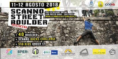 Scanno Street Boulder Contest 2018 - Pre-Iscrizione