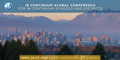 IB Continuum Schools & Districts Global Conference