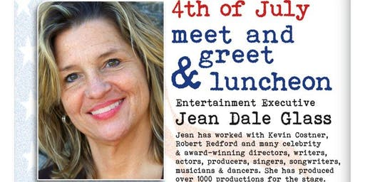 Los angeles ca video production events eventbrite 4th of july luncheon and meet greet with executive producer jean dale m4hsunfo