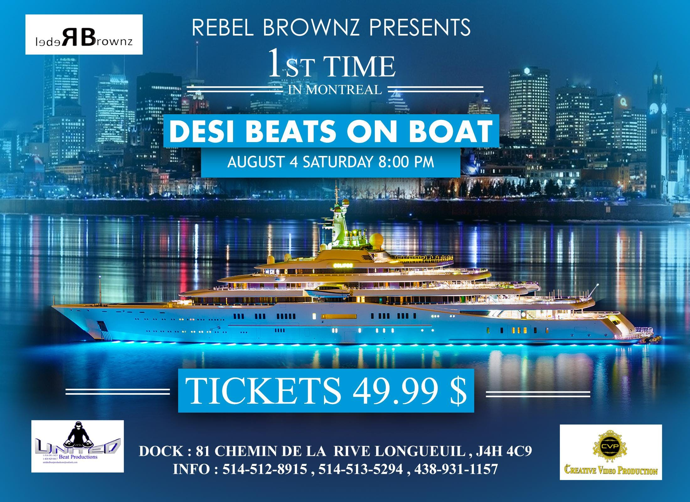 Desi Beats On Boat