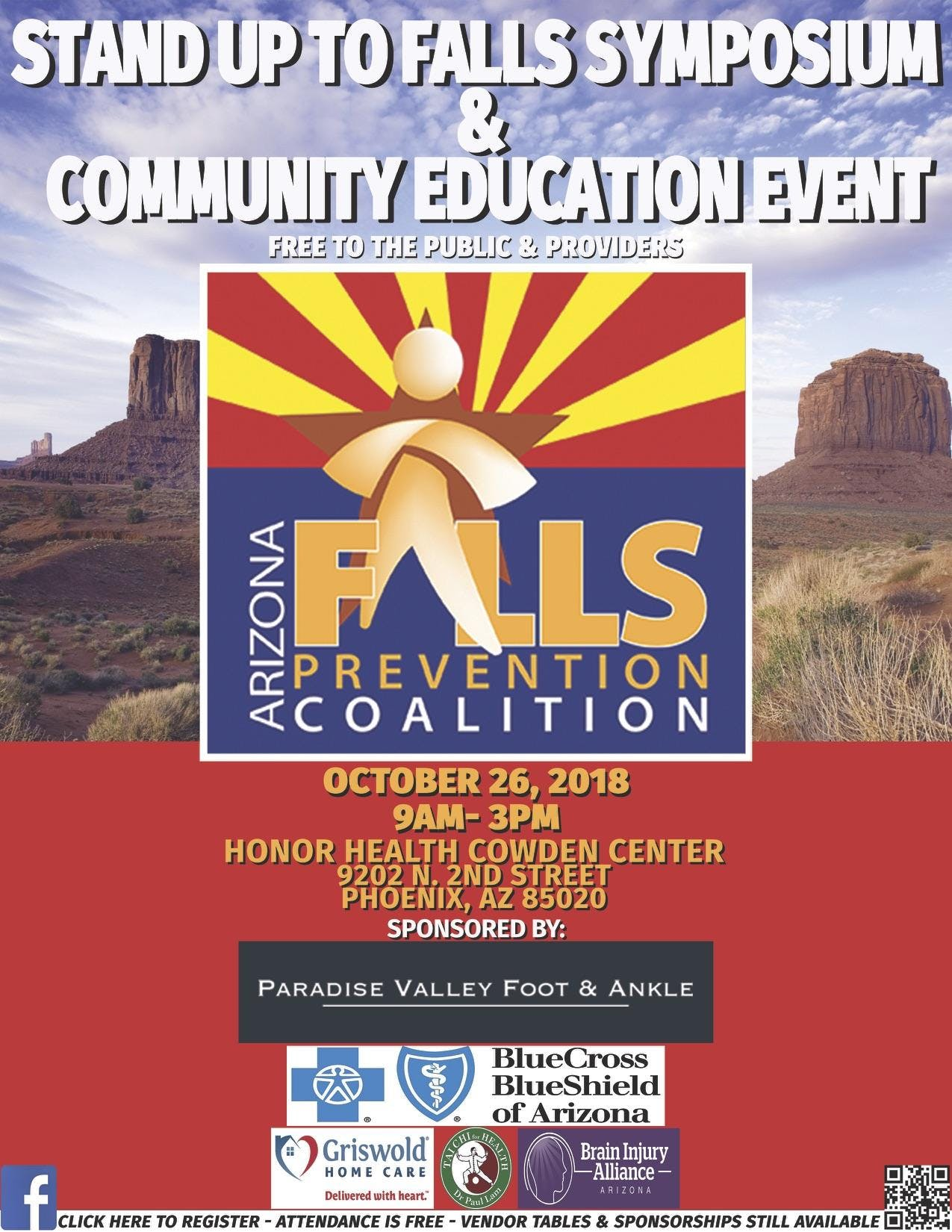 AFPC Stand Up To Falls Symposium & Community Event