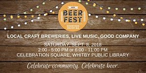 Downtown Whitby Beer Fest 2018