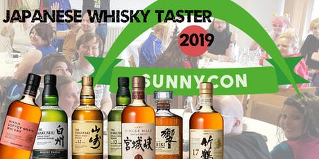 SunnyCon Newcastle 2019 Whisky Taster tickets