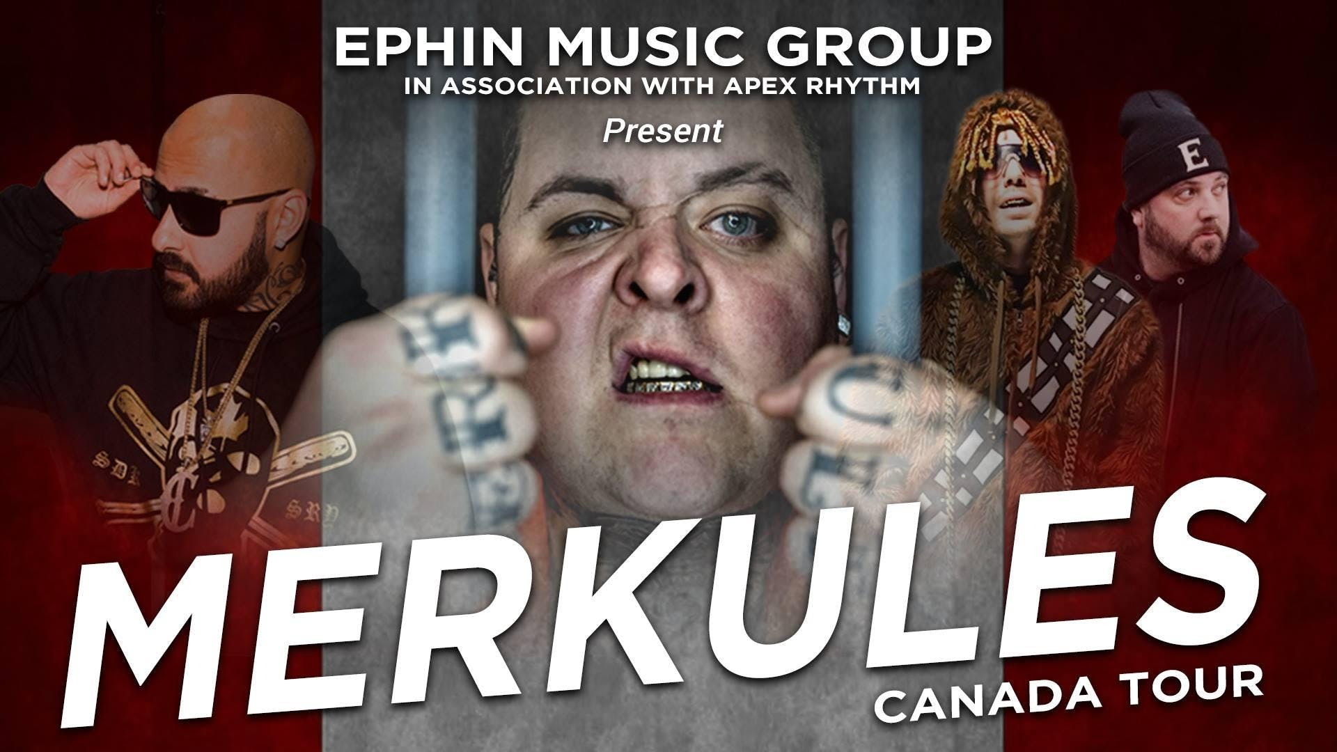 MERKULES & Special Guests Canadian Tour