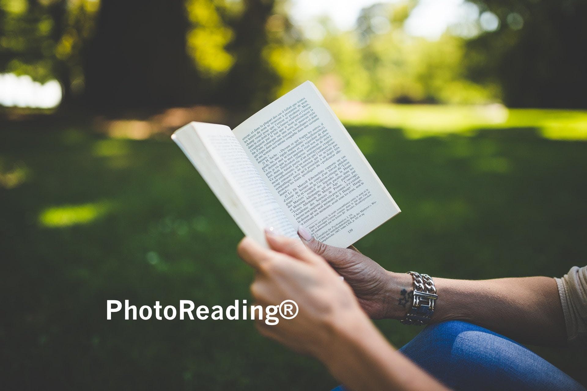 Serata gratuita sul PhotoReading®: perchè e c