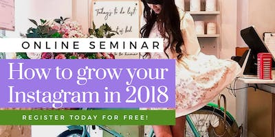 FREE - Discover How to Multiply Your Instagram Following in 2018 (ROME) JULY