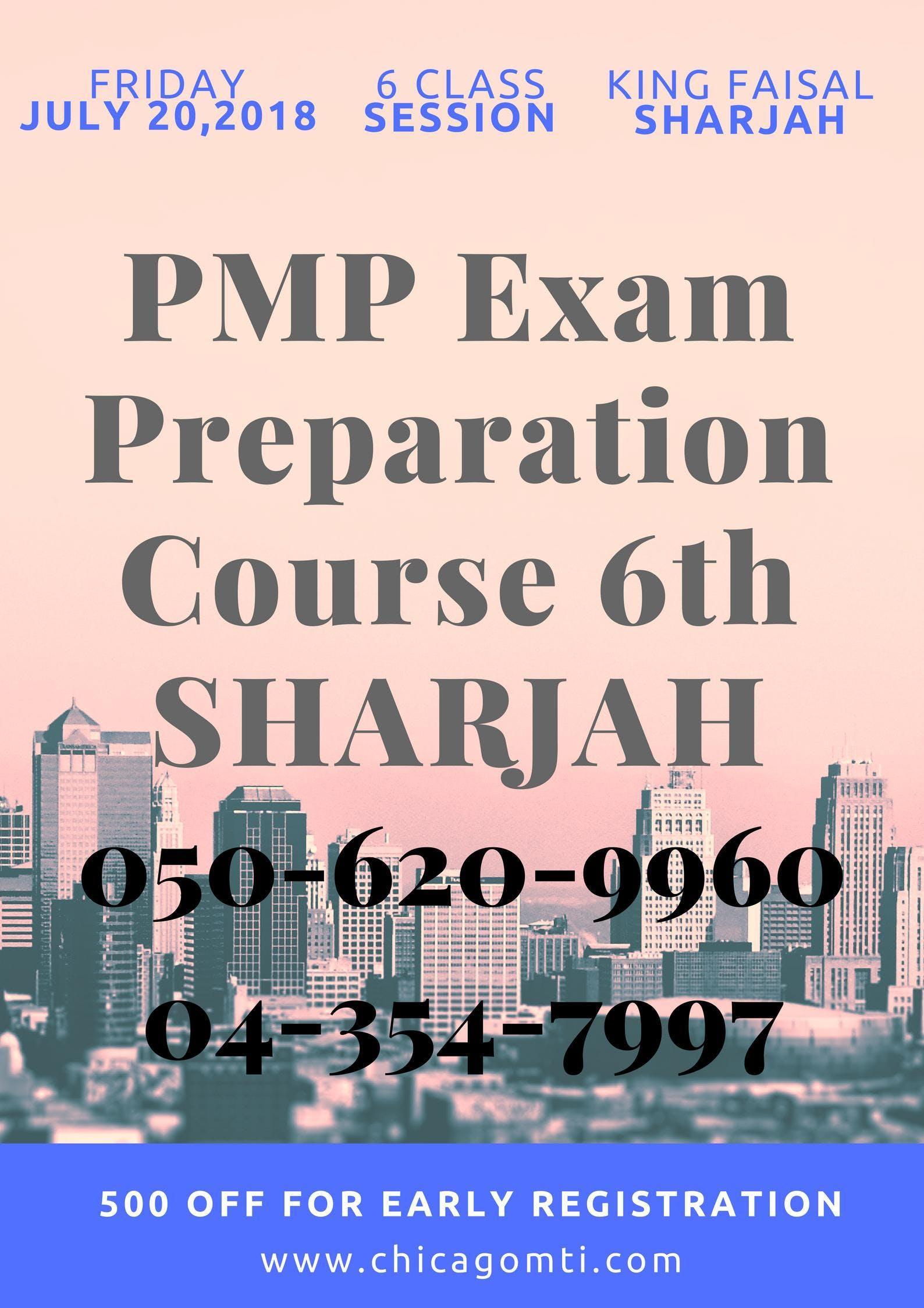 Pmp Certification Training In Sharjah 20 Jul 2018