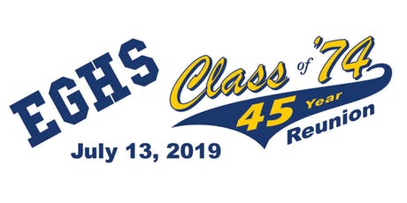 Elk Grove High School Class Of '74 45 Year Reunion tickets