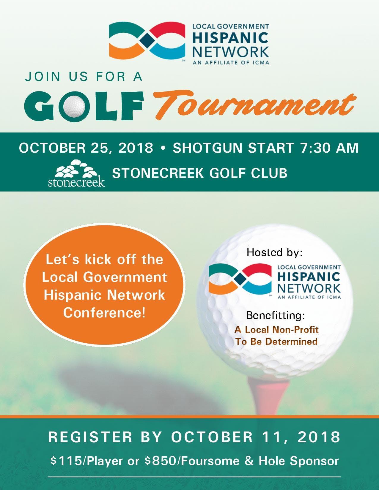 LGHN Biennial Conference - Golf Tournament at Stone Creek