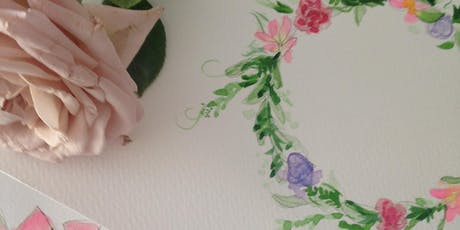 Beginners: Watercolour Floral Wreaths tickets
