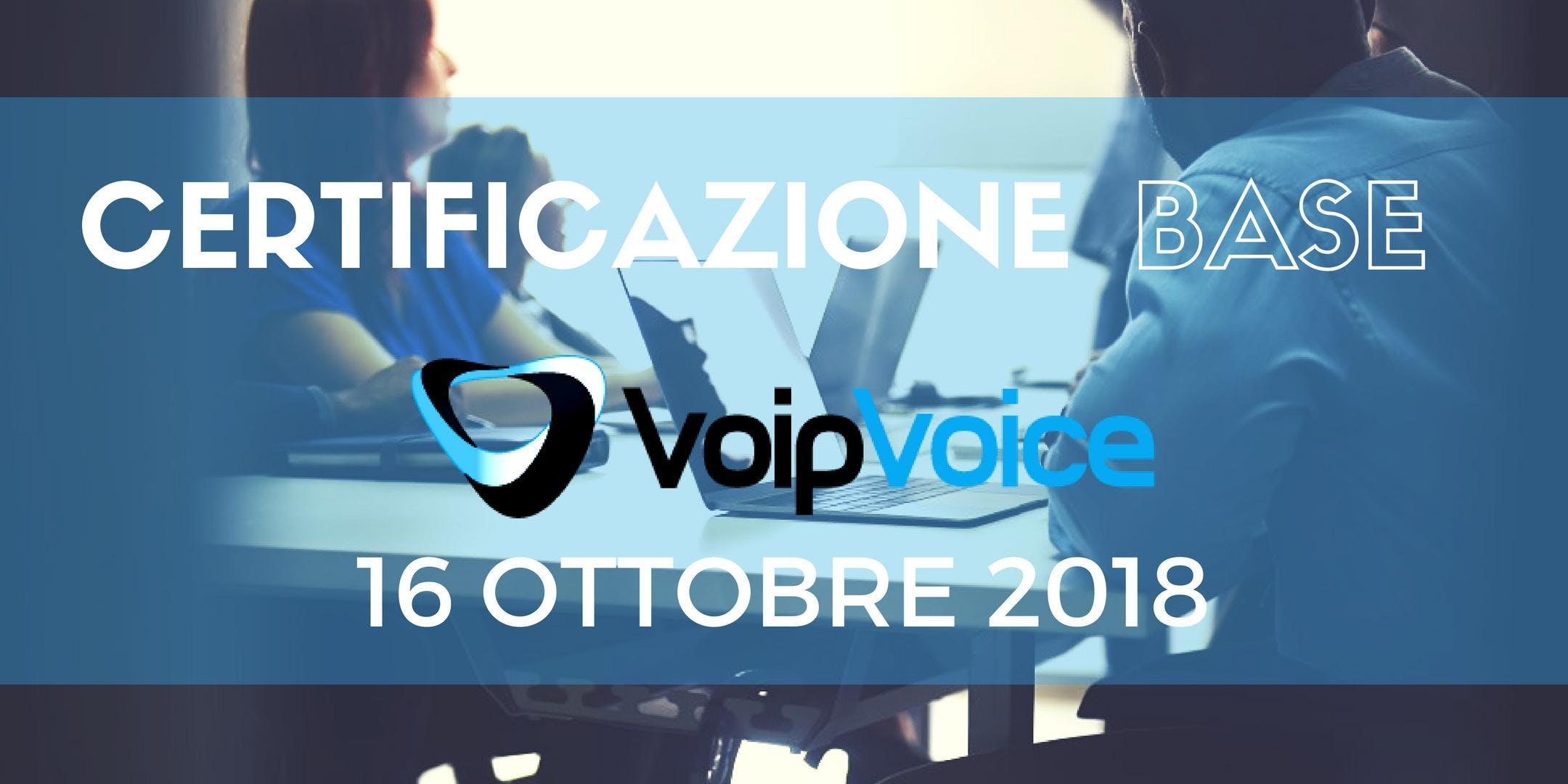Corso di Certificazione Base VoipVoice Firenz