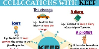 My English School Collocations Workshop