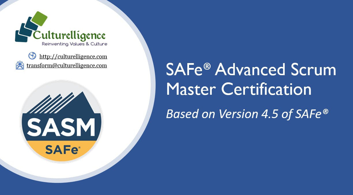 Weekend Safe Advanced Scrum Master With Sasm Certification