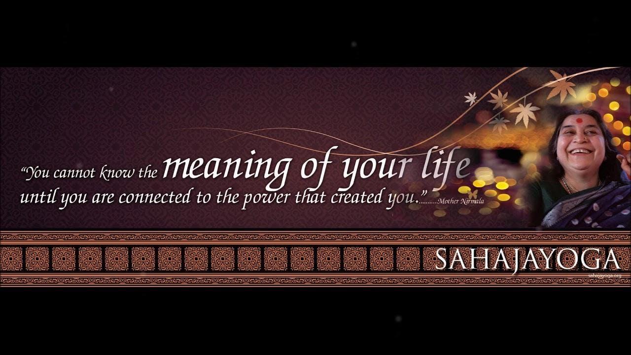 Free Meditation - Sahajyoga