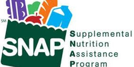 Prescreening for SNAP (Food Stamps)- FREE EVENT tickets
