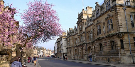 Working to reclaim public space in Oxford for pedestrians tickets