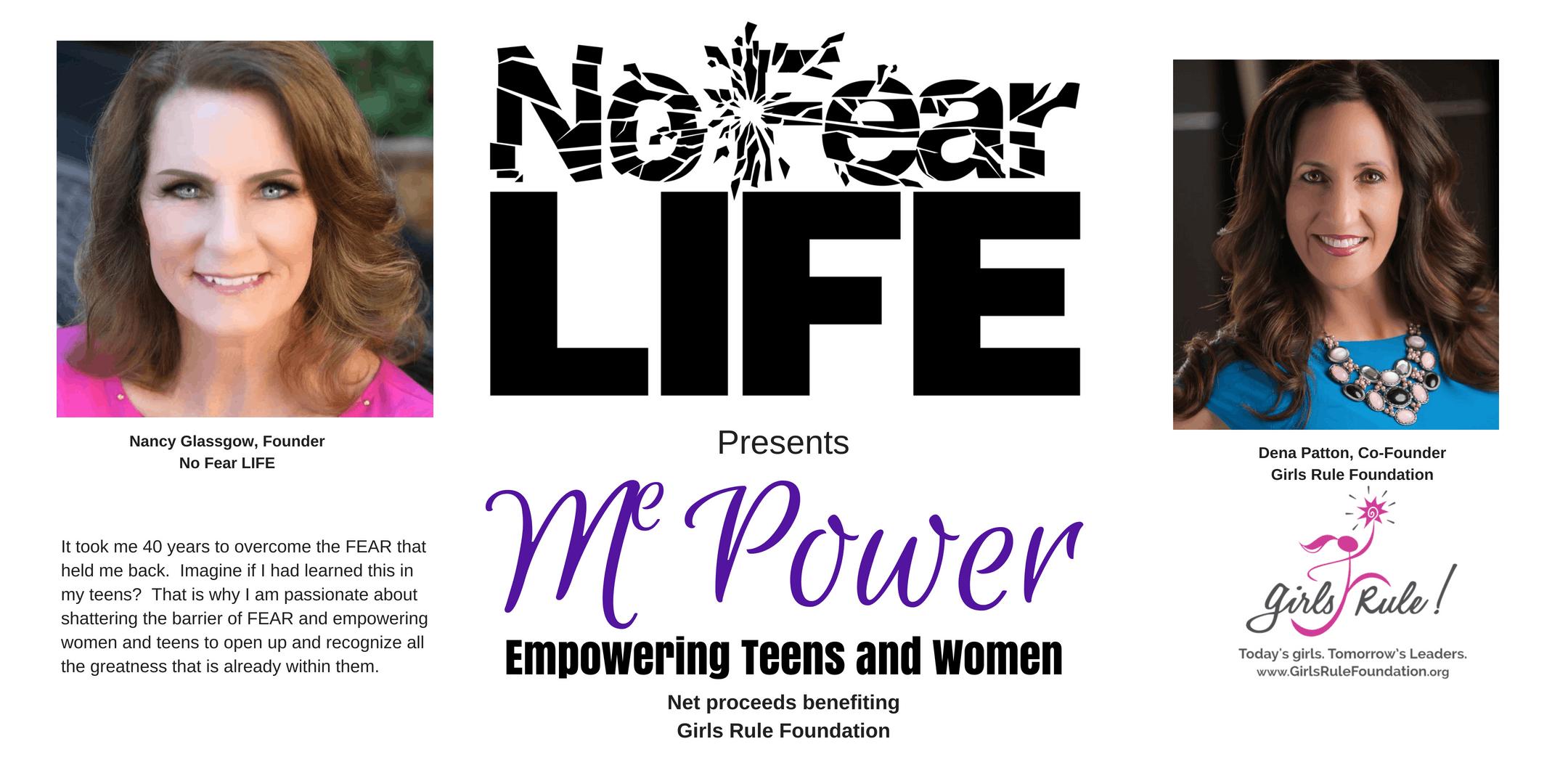 No Fear Life Presents Me Power