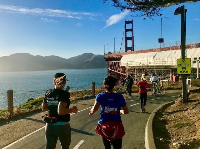 SB Presidio Fun Run hosted by San Francisco R