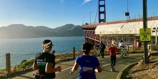 SB Presidio Fun Run hosted by San Francisco Road Runners Club