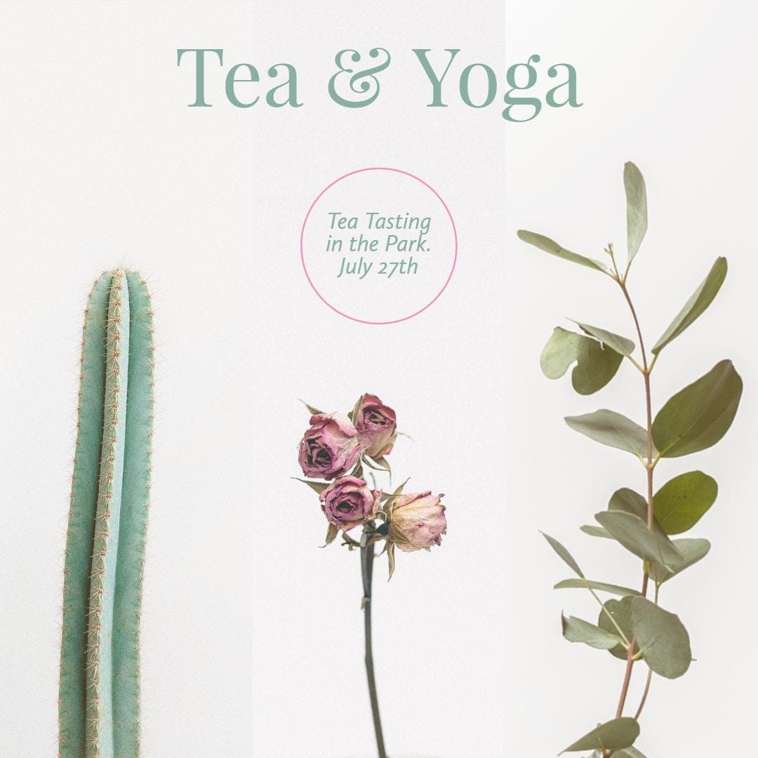 Tea and Yoga in the Park