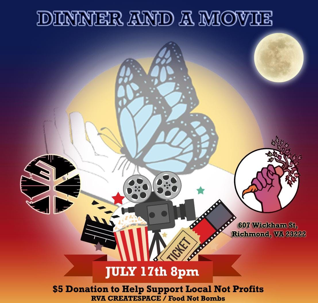 Dinner and a Movie @ RVA Create Space (Local