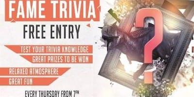 Fame Trivia Night