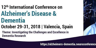 12th International Conference on Alzheimer's Disease & Dementia
