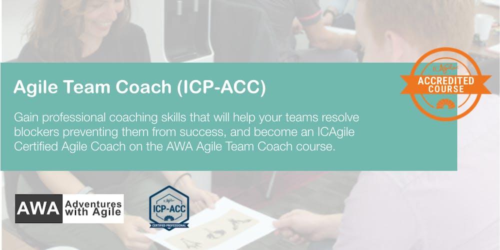Agile Team Coach Icp Acc London December Registration Wed 5