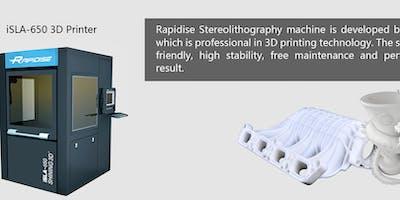 Presentazione Stampante 3D Shining 3D iSLA Stereolitografia Industriale
