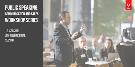 "10. Session -  ""Empathic Communication"" -Rosenberg and ESPERE-Methode – Salomé with Premium Speaker, Wladislaw Jachtchenko billets"