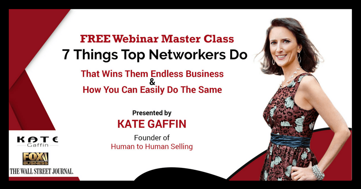 7 Things Top Networkers Do That Wins Them Endless Business...And How You Can Easily Do The Same - Free Webinar MasterClass (Business and Networking)