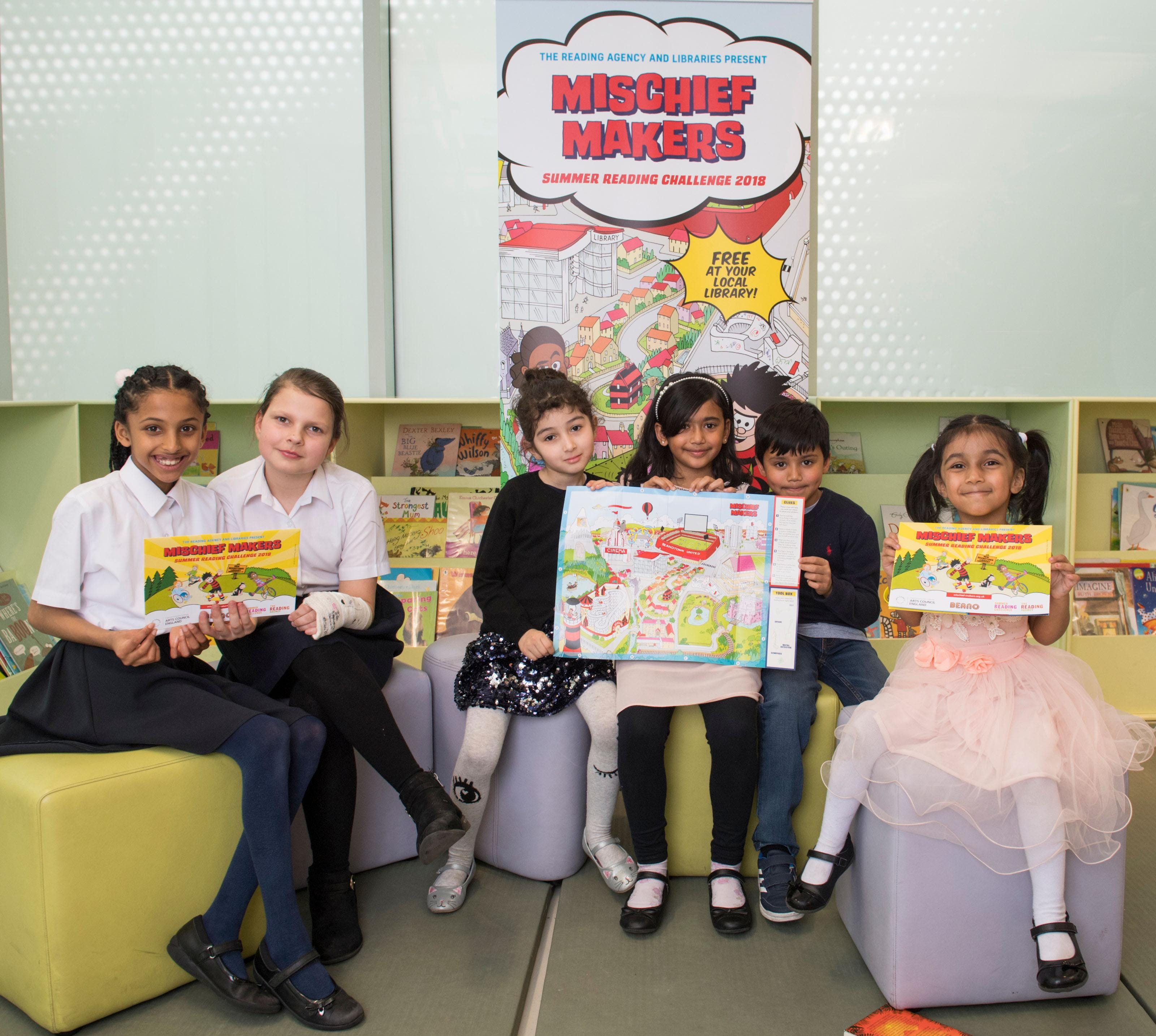 Quedgeley Library - Summer Reading Challenge