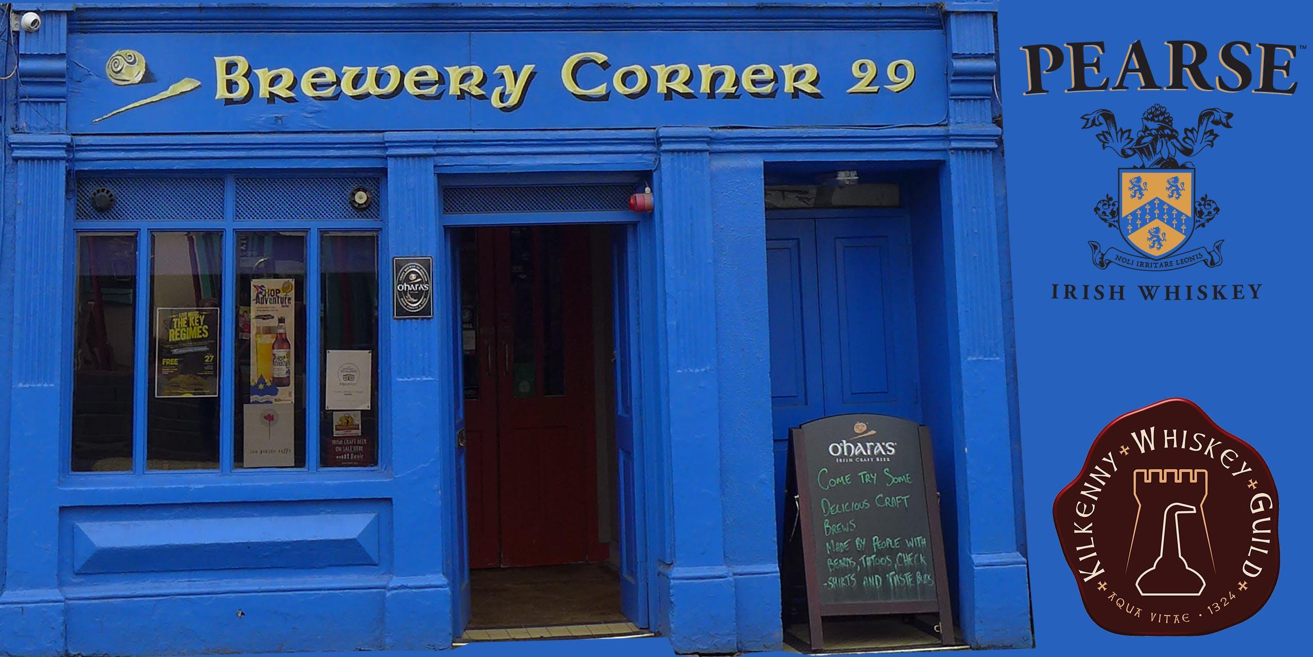 Pearse Irish Whiskey at Brewery Corner