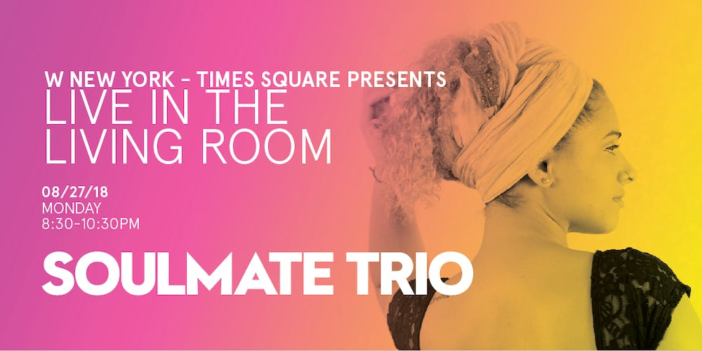 Soulmate Trio / Live in the Living Room Tickets, Mon, Aug 27, 2018 ...