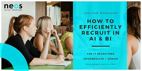 How to efficiently recruit in Business & Artificial Intelligence? tickets